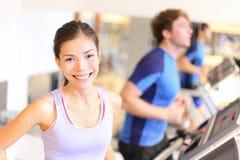 Ritratto della gente di forma fisica in ginnastica Fotografia Stock