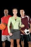 Ritratto della gente di sport Fotografie Stock Libere da Diritti