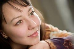 Ritratto della giovane donna immagini stock libere da diritti