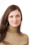 Ritratto della giovane donna Fotografia Stock Libera da Diritti
