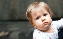 Ritratto della neonata Fotografia Stock Libera da Diritti