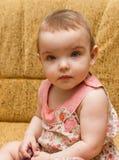 Ritratto della neonata. Fotografia Stock Libera da Diritti