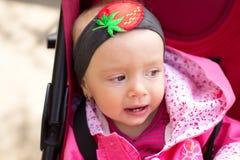 Ritratto della neonata Fotografie Stock Libere da Diritti