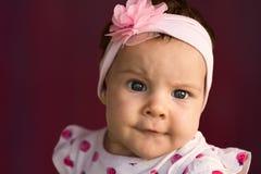 Ritratto della neonata Immagine Stock Libera da Diritti