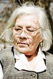 Ritratto della nonna Fotografie Stock Libere da Diritti