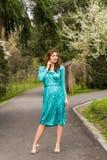 Ritratto della primavera Fotografia Stock