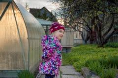 Ritratto della primavera di una bambina Fotografia Stock Libera da Diritti
