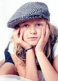 Ritratto della ragazza Immagini Stock Libere da Diritti
