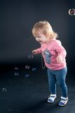 Ritratto della ragazza adorabile Fotografie Stock