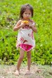 Ritratto della ragazza asiatica Immagini Stock Libere da Diritti