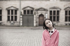 Ritratto della ragazza asiatica Fotografie Stock Libere da Diritti