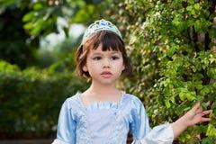 Ritratto della ragazza asiatica in costume di principessa Immagine Stock