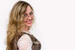 Ritratto della ragazza attraente fotografia stock libera da diritti