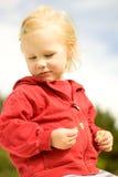 Ritratto della ragazza bionda Fotografia Stock Libera da Diritti