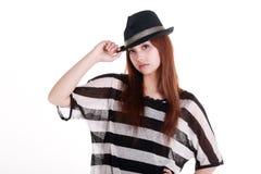 Ritratto della ragazza cinese. Immagine Stock