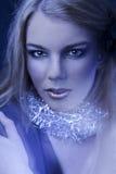 Ritratto della ragazza con make-up.fashion luminoso Fotografia Stock Libera da Diritti