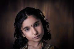Ritratto della ragazza del modello di moda Fotografie Stock