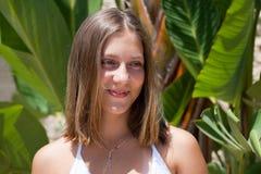 Ritratto della ragazza dell'adolescente Fotografia Stock