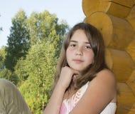 Ritratto della ragazza di 13 anni. Fotografia Stock Libera da Diritti
