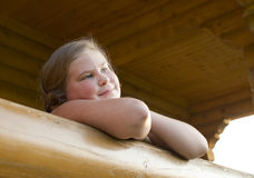 Ritratto della ragazza di 10 anni. Immagine Stock Libera da Diritti