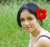 Ritratto della ragazza di bellezza Fotografia Stock Libera da Diritti