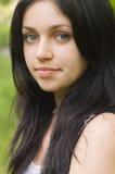 Ritratto della ragazza di bellezza Fotografia Stock