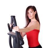 Ritratto della ragazza di forma fisica Immagine Stock Libera da Diritti
