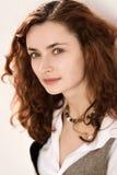 Ritratto della ragazza di Redhair Fotografia Stock Libera da Diritti