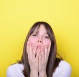 Ritratto della ragazza frustrata Fotografia Stock Libera da Diritti