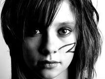 Ritratto della ragazza graziosa Immagine Stock Libera da Diritti