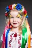 Ritratto della ragazza graziosa Immagine Stock
