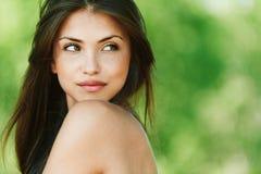Ritratto della ragazza seducente Immagine Stock