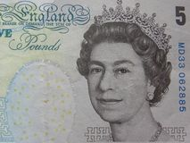 Ritratto della regina Elizabeth II fotografia stock