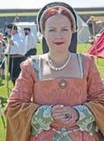 Ritratto della signora nell'attesa Fotografie Stock Libere da Diritti