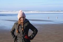 Ritratto della spiaggia Fotografia Stock Libera da Diritti