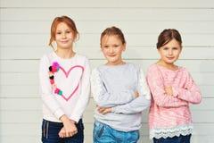 Ritratto delle bambine Immagine Stock