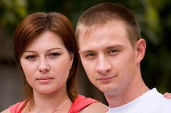 ritratto delle coppie Immagini Stock Libere da Diritti