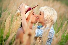 Ritratto delle coppie di amore Fotografie Stock