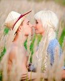 Ritratto delle coppie di amore Fotografie Stock Libere da Diritti