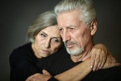Ritratto delle coppie maggiori Fotografia Stock