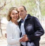 Ritratto delle coppie mature Fotografie Stock