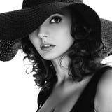 Ritratto delle donne naturali ed attraenti Fotografia Stock