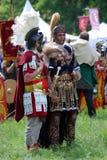 Ritratto delle persone in costume storico Immagine Stock