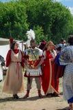 Ritratto delle persone in costumi storici Immagini Stock