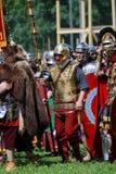 Ritratto delle persone in costumi storici Immagine Stock Libera da Diritti