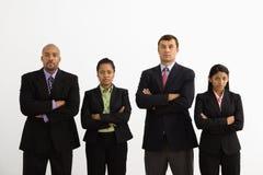 Ritratto delle persone di affari. Fotografia Stock