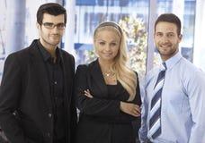 Ritratto delle persone di affari sicure Fotografie Stock
