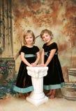Ritratto delle ragazze Fotografie Stock