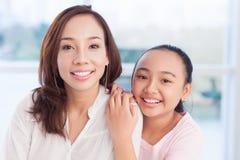 Ritratto delle sorelle Immagine Stock