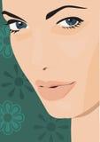 Ritratto dello sconosciuto. illustrazione vettoriale